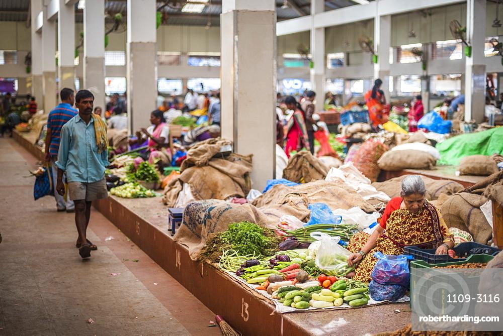 Mapusa Market, Goa, India, Asia