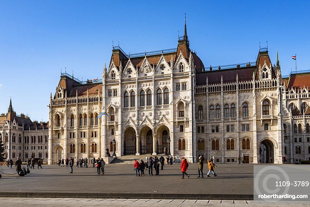 Budapest Houses of Parliament, Budapest, Hungary, Europe