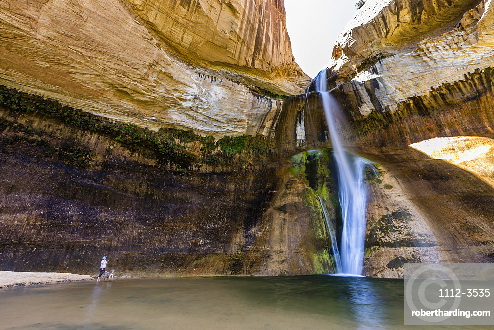 Lower Calf Creek Falls, Grand Staircase-Escalante National Monument, Utah, United States of America, North America