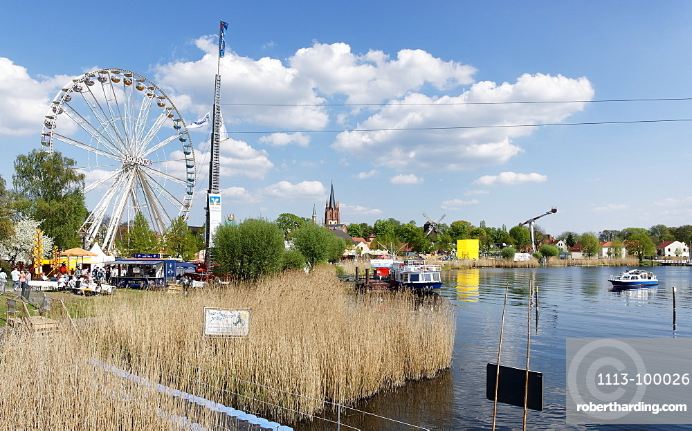 Festival In Werder An Der Stock Photo
