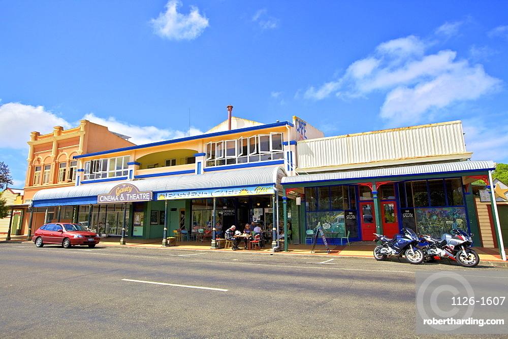 Art Deco Cinema and Theatre, Wairoa, Hawkes Bay, North Island, New Zealand, Pacific