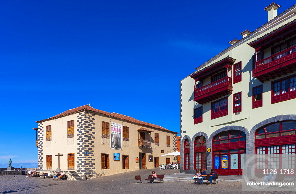 Museum of Contemporary Art Eduardo Westerdahl, Puerto de la Cruz, Tenerife, Canary Islands, Spain, Atlantic Ocean, Europe,