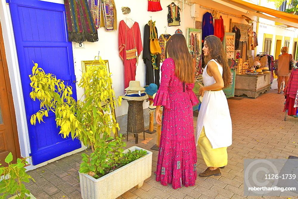 Hippy Shop, Santa Gertrudis de Fruitera, Ibiza, Balearic Islands, Spain