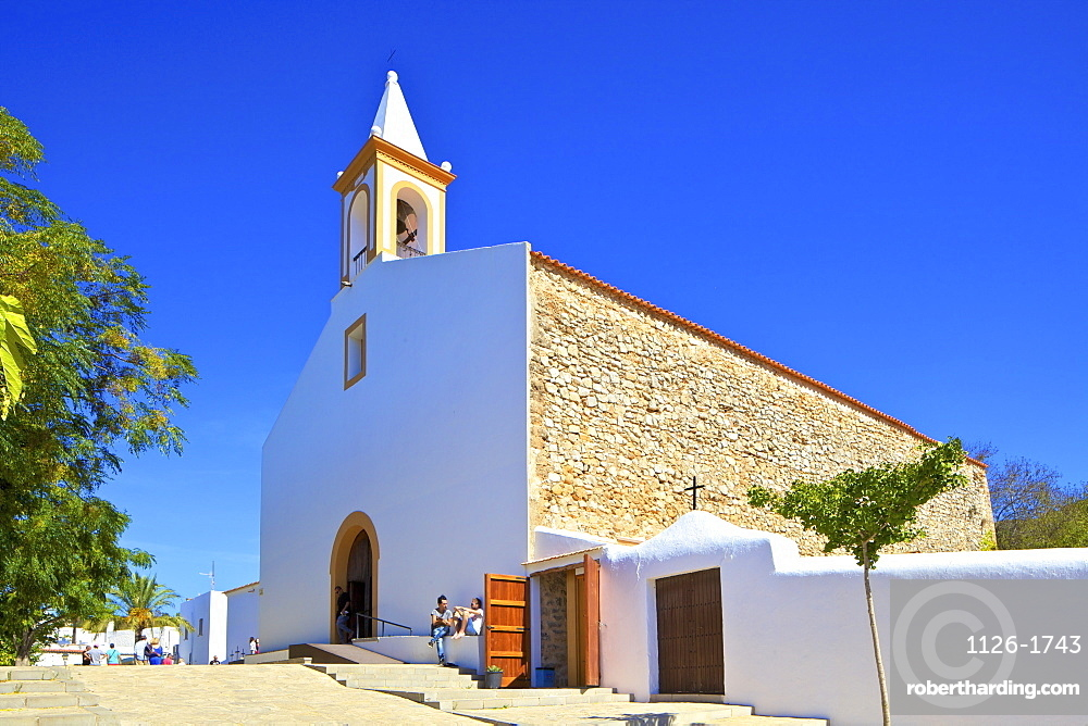 Sant Joan de Labritja Church, Ibiza, Balearic Islands, Spain