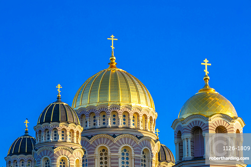 Cathedral of Christ's Nativity, Riga, Latvia, Northern Europe,