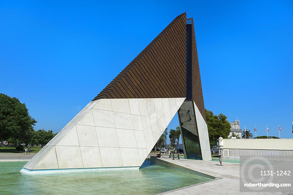 Belem War Memorial (Monumento aos Combatentes da Guerra do Ultramar), Belem, Lisbon, Portugal, Europe