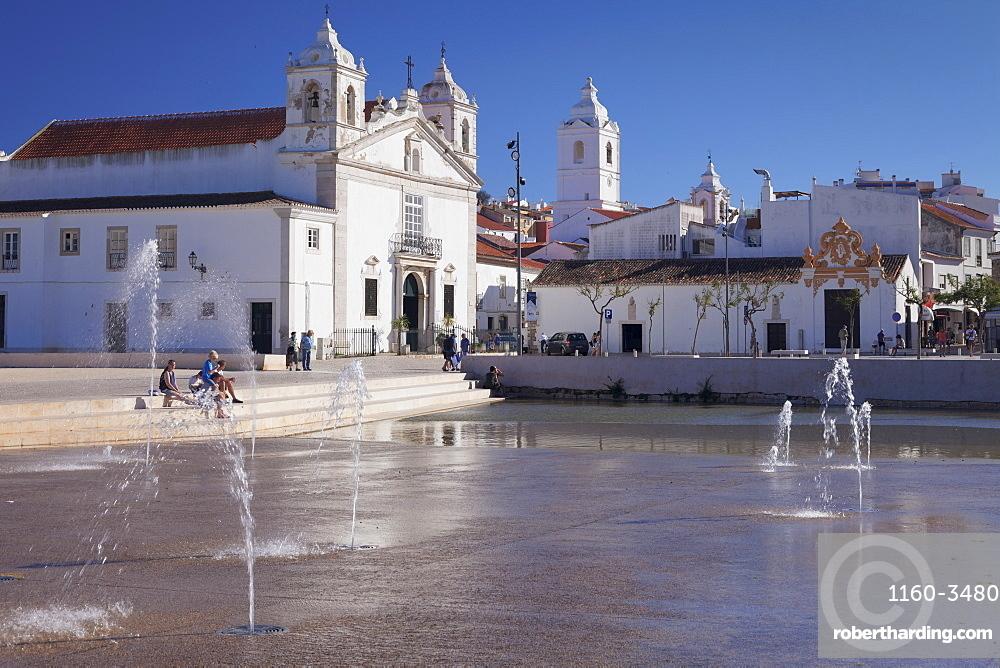 Santa Maria church, Lagos, Algarve, Portugal, Europe