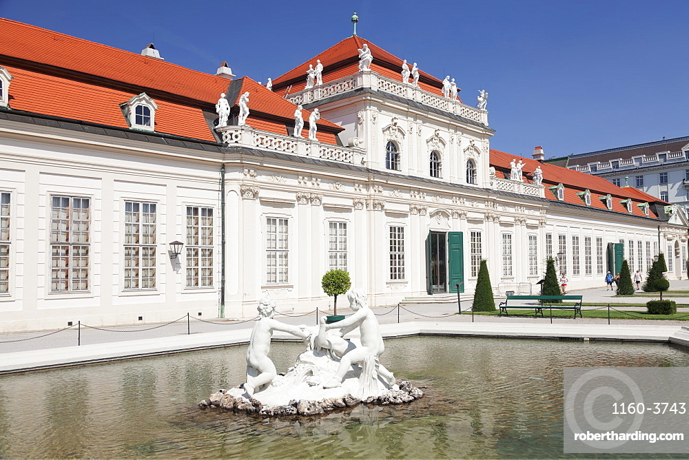 Lower Belvedere Palace, UNESCO World Heritage Site, Vienna, Austria, Europe