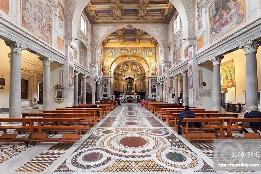 Basilika Santa Prassede, Rome, Lazio, Italy