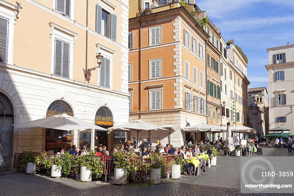 Piazza Santa Maria in Trastvere, Rome, Lazio, Italy, Europe
