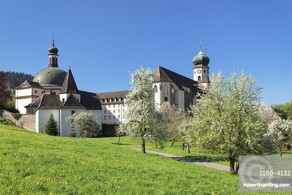 Sankt Trudpert Monastery, Muenstertal Valley, Black Forest, Baden-Wuerttemberg, Germany