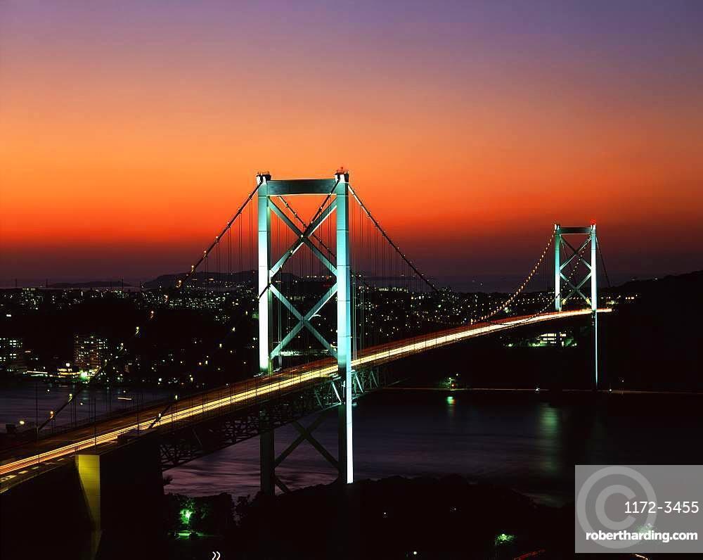 Kanmonkyo Bridge, Fukuoka, Japan