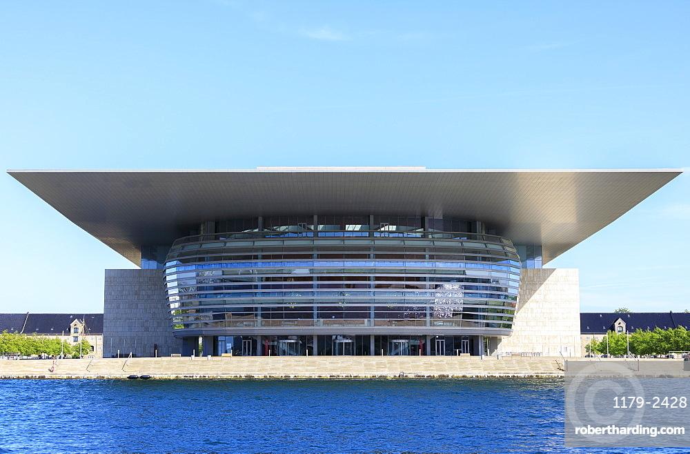 The Copenhagen Opera House (Operaen), Island of Holmen, Copenhagen, Denmark, Europe