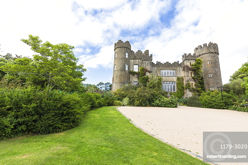 Malahide Castle and Gardens, Dublin, Republic of Ireland, Europe