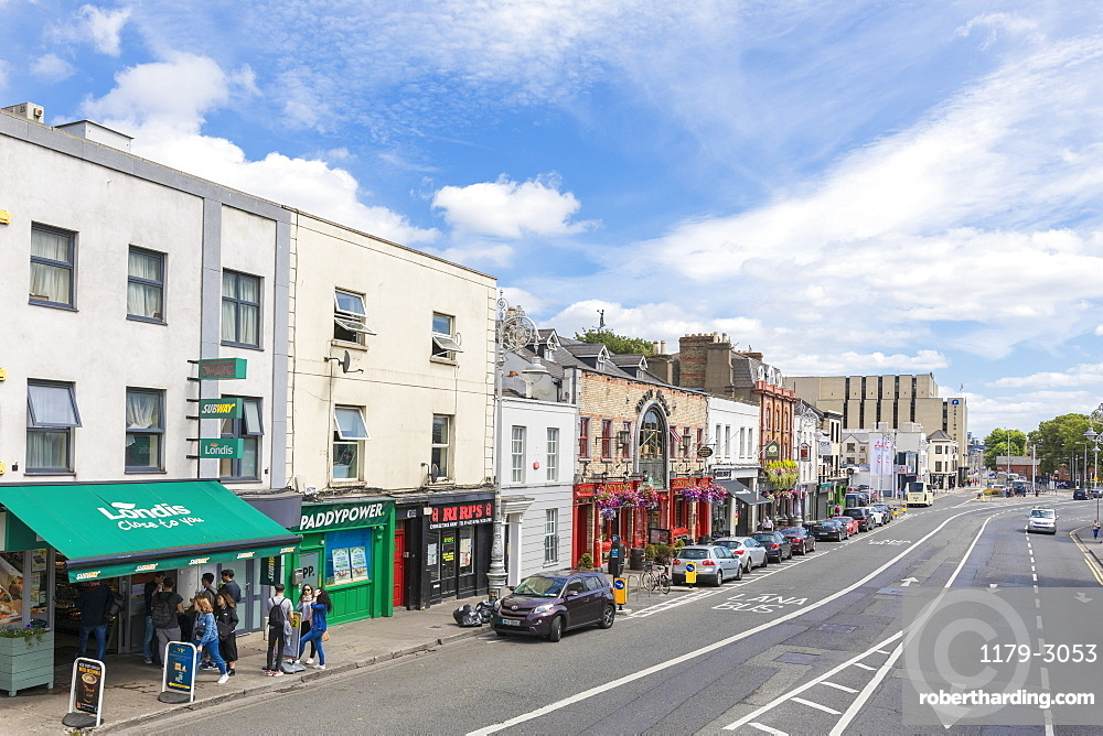 People on the street, Dublin, Republic of Ireland, Europe