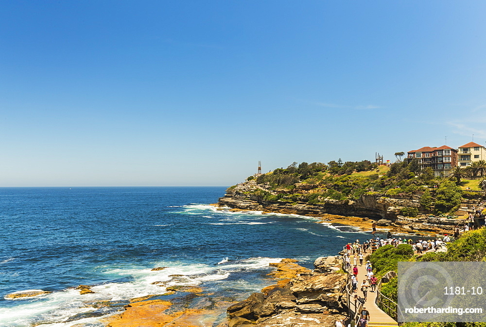Bondi Coast, Sydney, New South Wales, Australia, Pacific
