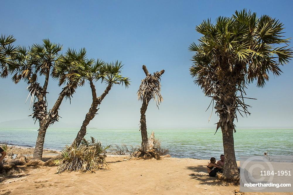 Salt Lake Afrera, Danakil depression, Ethiopia, Africa