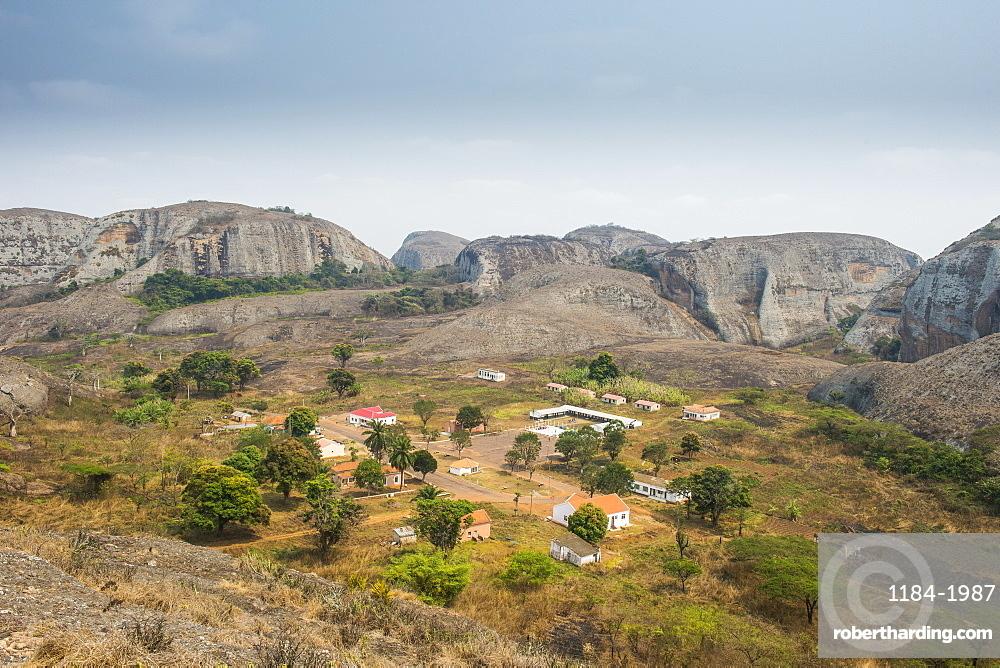 Black Rocks at Pungo Andongo, Malanje province, Angola, Africa