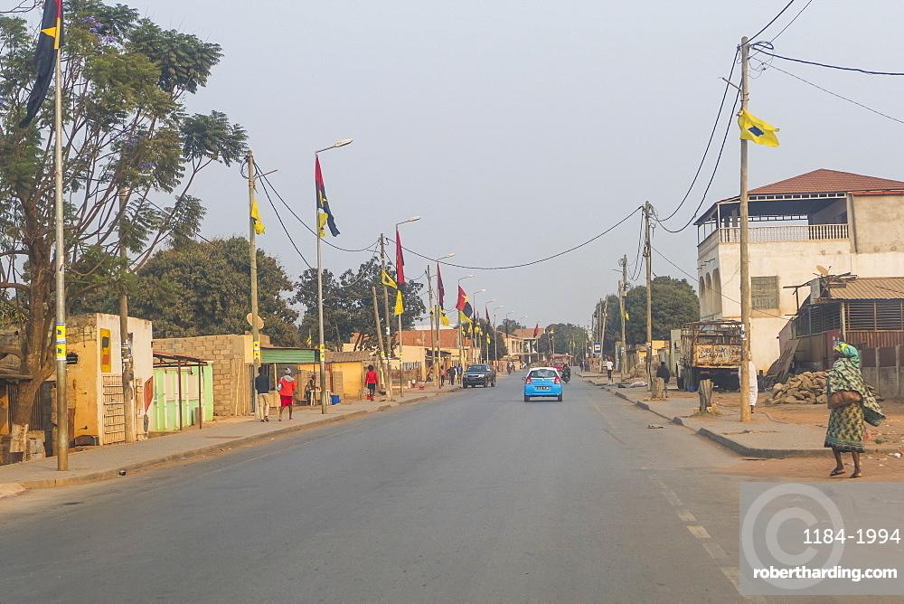 Town of Malanje, Malanje province, Angola, Africa