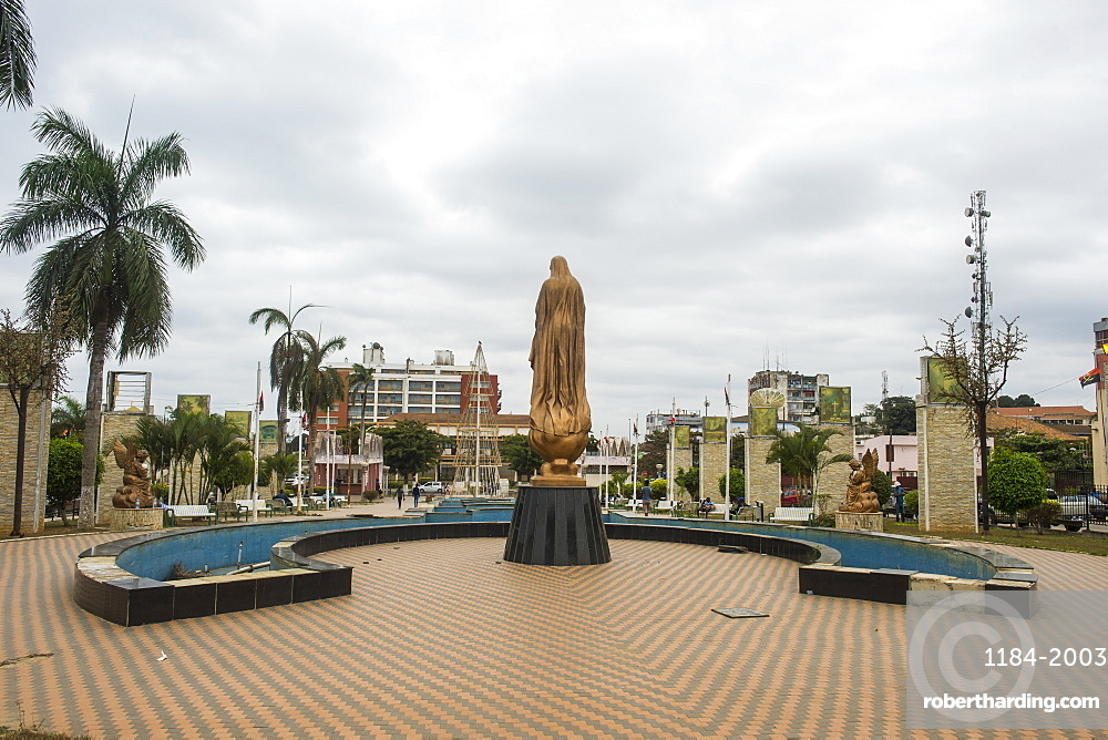 Town centre of Cabinda, Angola, Africa
