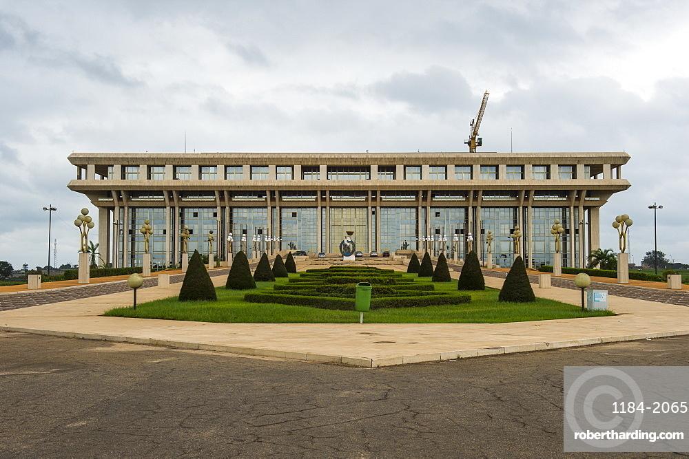 Parliament of Yamassoukrou, Ivory Coast, West Africa, Africa