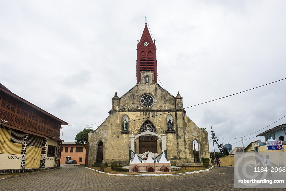 Church, Libreville, Gabon, Africa