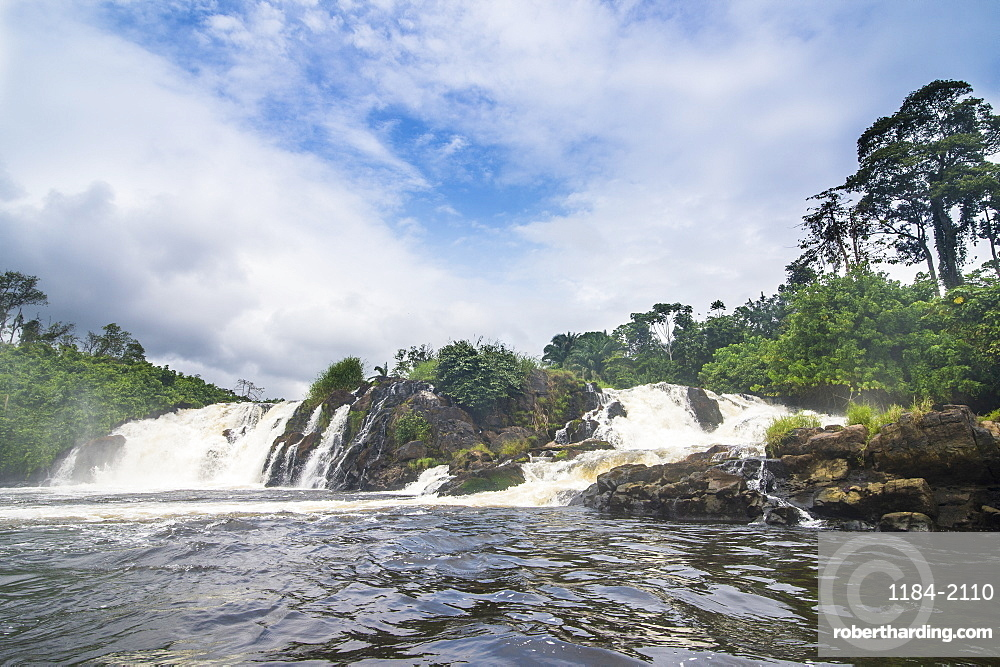 Lobe waterfalls, Kribi, Cameroon