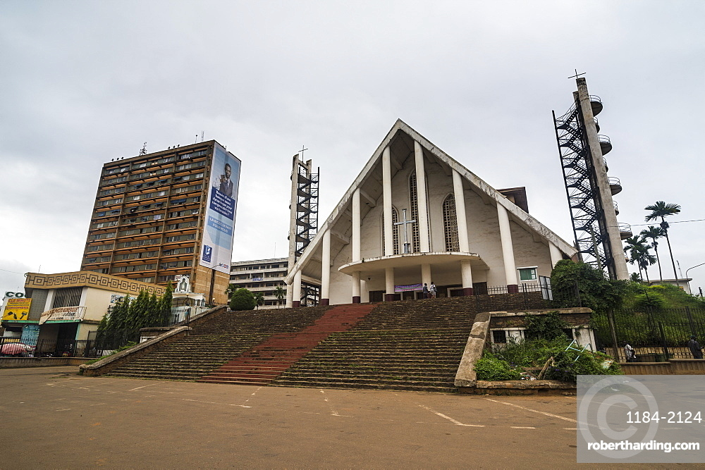 Our Lady of Victories Cathedral, Yaounde, Cameroon, Africa