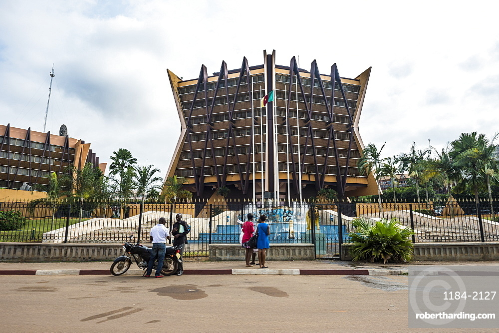 Prime Ministry, Yaounde, Cameroon, Africa