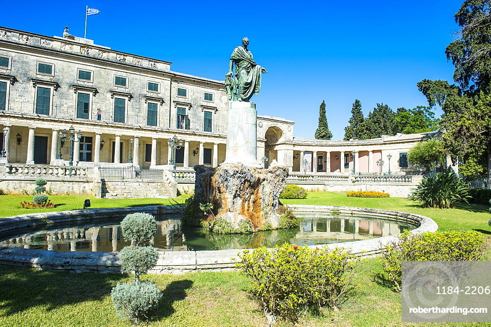 Saint George Palace, old town of Corfu, Ionian Islands, Greek Islands, Greece, Europe