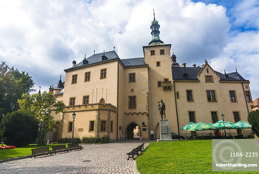 Italian Court, Unesco world heritage, Kutna Hora, Bohemia, Czech republic