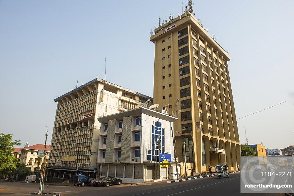 Downtown Freetown, Sierra Leone, West Africa, Africa
