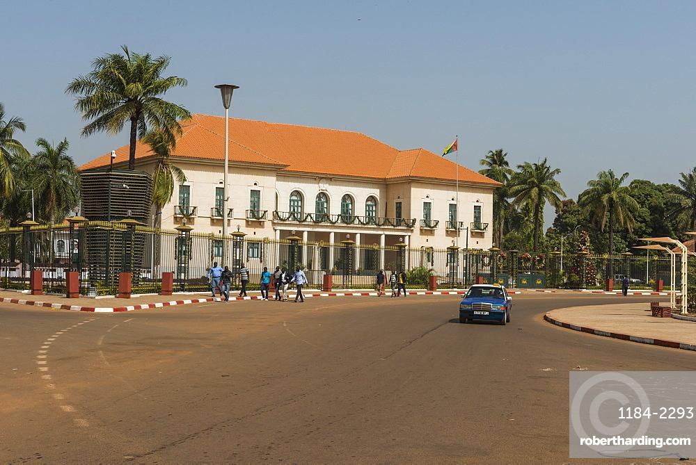 Republican Palace, Bissau, Guinea Bissau, West Africa, Africa