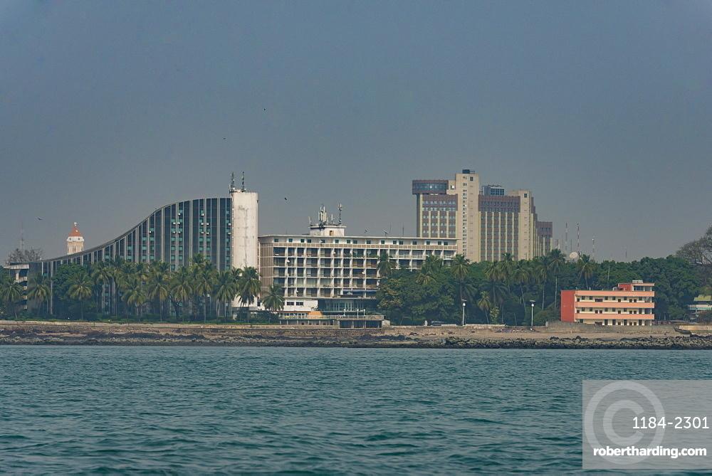 Skyline of Conakry, Republic of Guinea, Guinea Conakry
