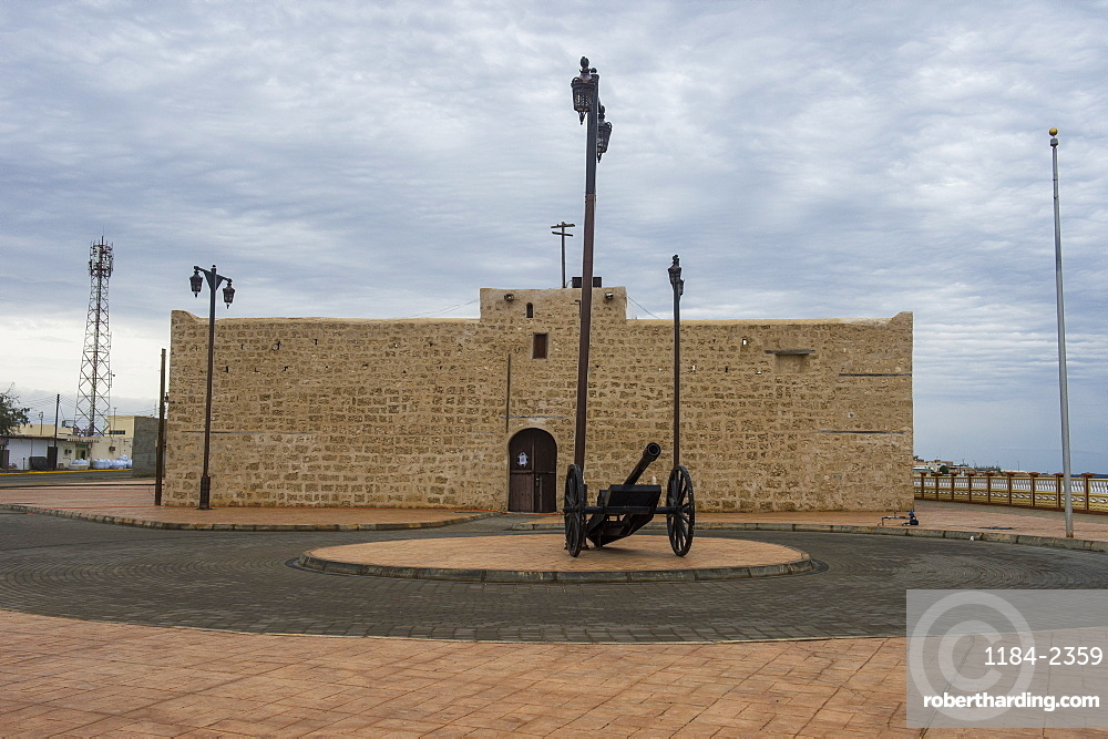 Old fort in Al Wadj, Saudi Arabia, Middle East
