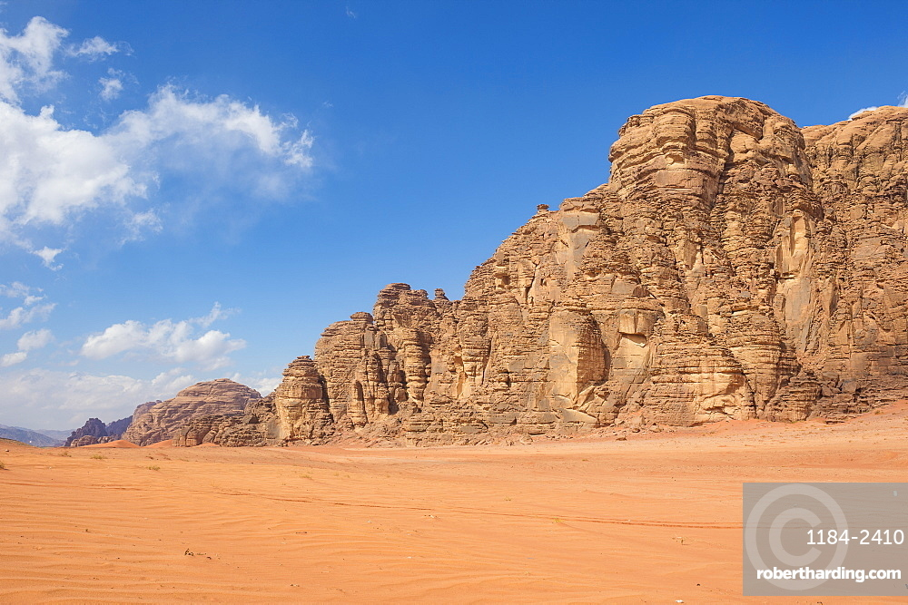 Beautiful scenery in the northern territories of Saudi Arabia, Middle East