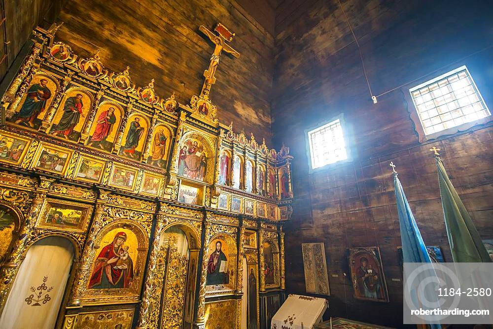 Interior of the Church of the Holy Spirit, UNESCO World Heritage Site, Rohatyn, Ukraine, Europe