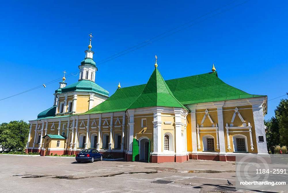 Vvedenskaya Refectory Church in the Trinity Monastery, Chernihiv, Ukraine, Europe