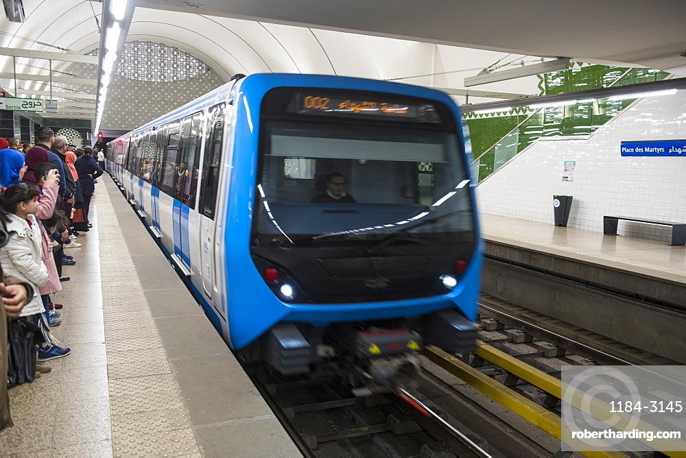 Metro of Algiers, Algeria