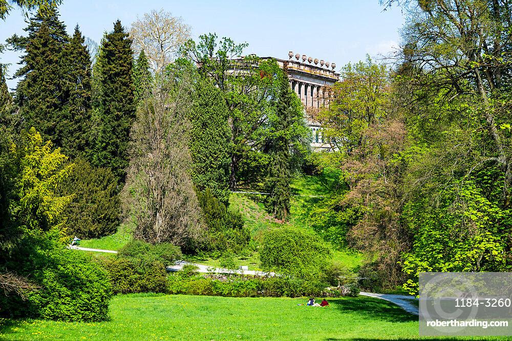 Unesco world heritage sight the Bergpark Wilhelmshoehe a landscape park, Hesse, Germany