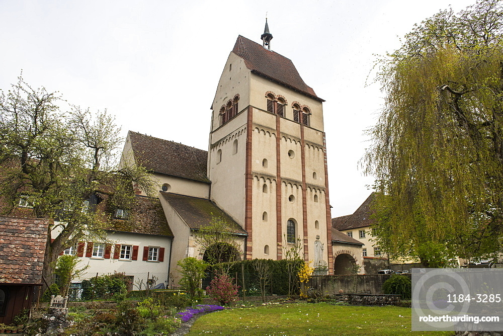 Benedictine Abbey of Reichenau, Unesco world heritage sight Reichenau Island on lake Constance, Germany