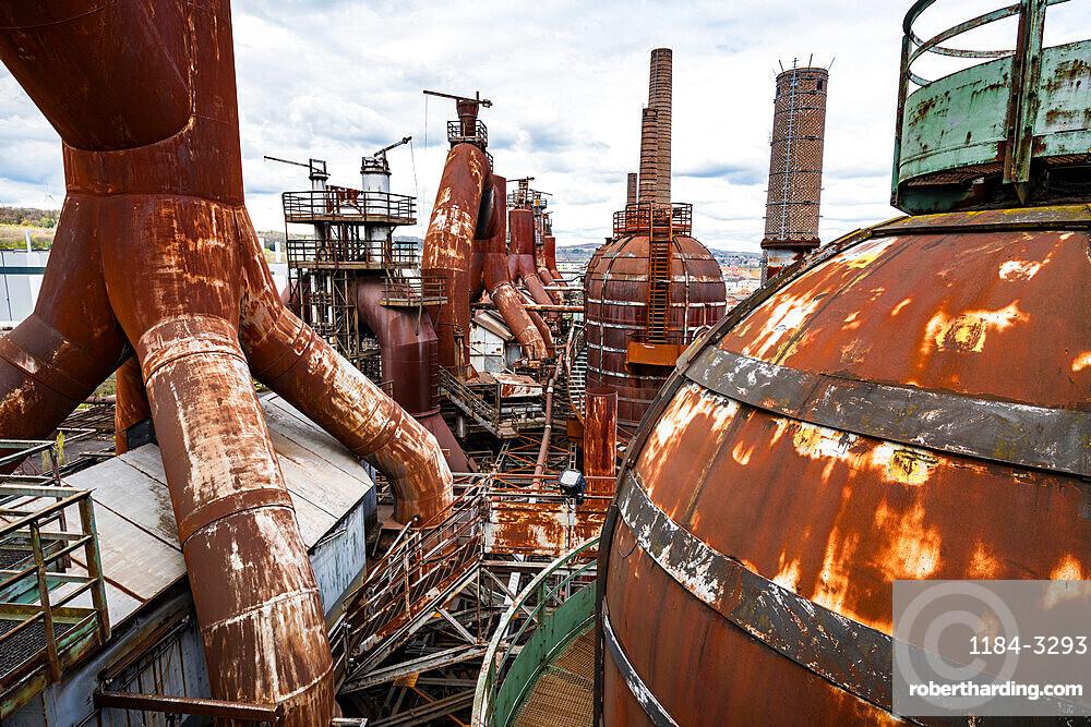 Unesco world heritage sight Voelklingen Ironworks, Saarland, Germany