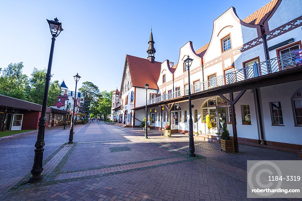 Old German buildings, Kaliningrad, Russia
