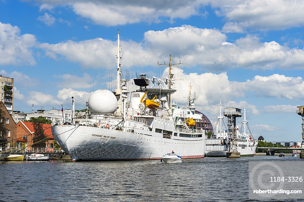 Exhibition ship in the World Ocean Museum, Kaliningrad, Russia