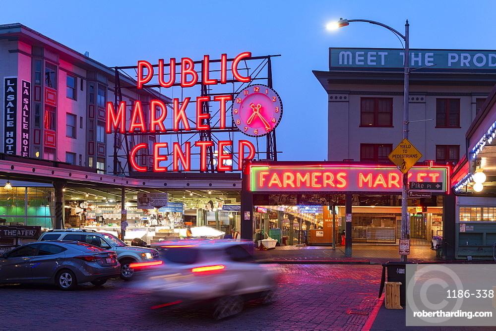 Pike Place Market, Seattle, Washington State, United States of America, North America