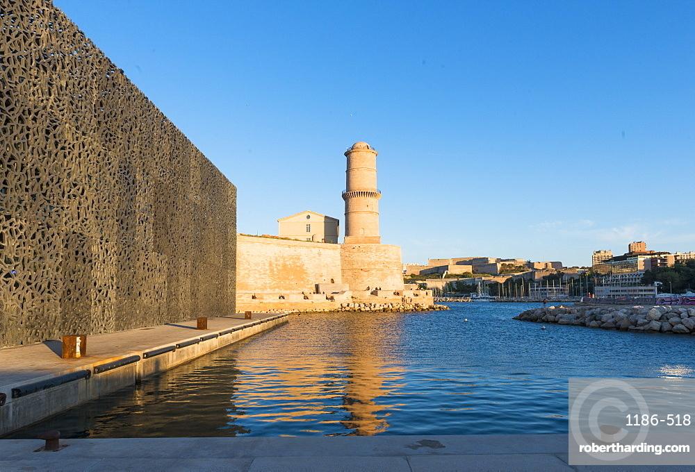 MUCEM and Fort Saint Jean Marseille, Bouches du Rhone, France