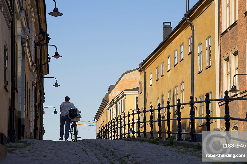 Views of the fashionable Sodermalm district, Stockholm, Sweden, Scandinavia, Europe