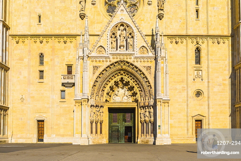 Cathedral of the Assumption of the Blessed Virgin Mary, Zagreb, Croatia, Europe