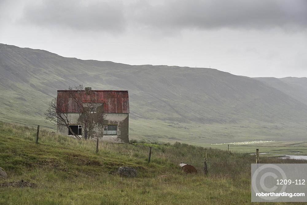 Abandoned Farmhouse, Westfjords, Iceland