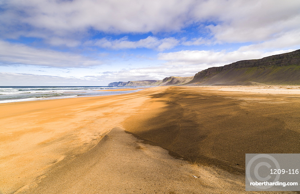 Raudasandur, Westfjords, Iceland, Polar Regions
